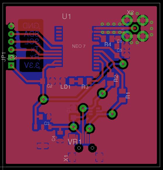 Модуль позиционирования на базе u blox NEO 7M