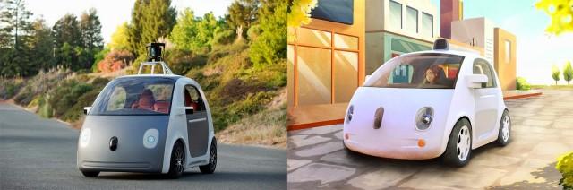Google придется вернуть руль и педали в свои роботизированные автомобили
