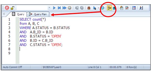 Приемы работы с планами выполнения запросов в Oracle