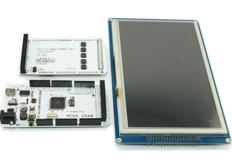 Управление яркостью подсветки 7 ми дюймового TFT LCD