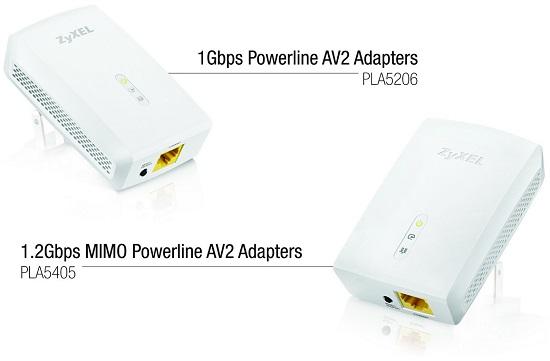 Zyxel Powerline PLA5206 и PLA5405