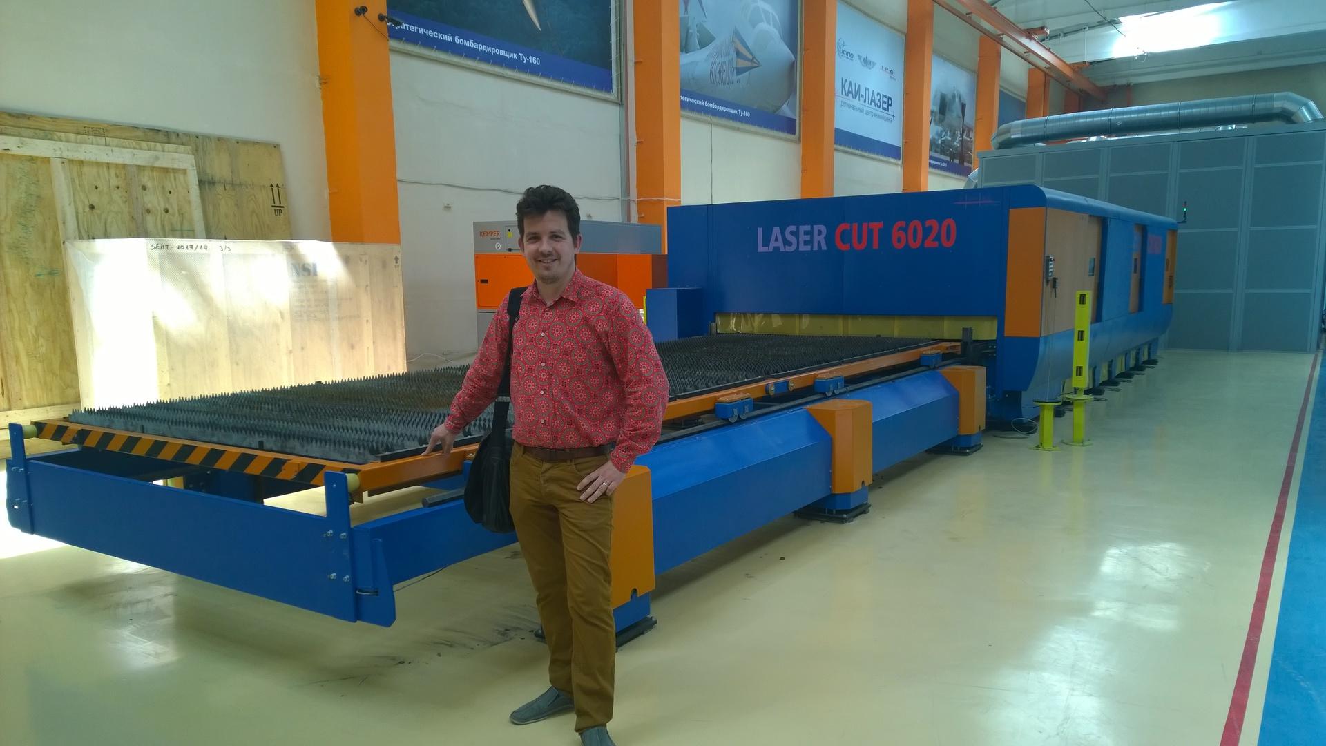 Как мы ходили на экскурсию к «КАИ Лазер»