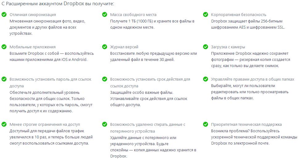 Dropbox ввёл единый тарифный план: 1TB — $9.99 месяц, $99 год