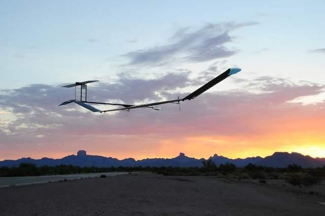 Беспилотный самолет на солнечных батареях Zephyr 7 продержался в воздухе 11 дней в зимних условиях