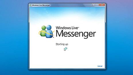 Покойся с миром, MSN Messenger