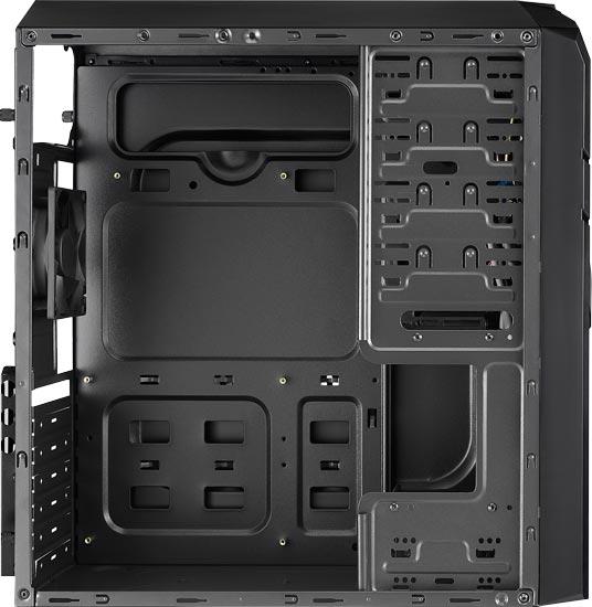К особенностям корпуса AeroCool V2X производитель относит лаконичные формы