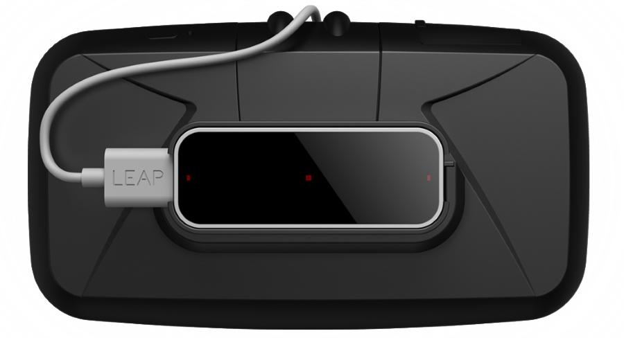 Leap Motion выпустили систему распознавания жестов для Oculus Rift