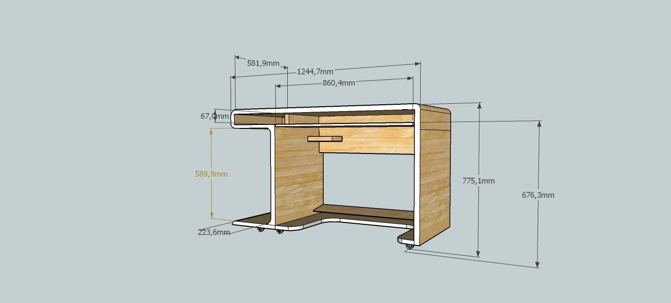 Большая идея для небольшого компьютерного стола