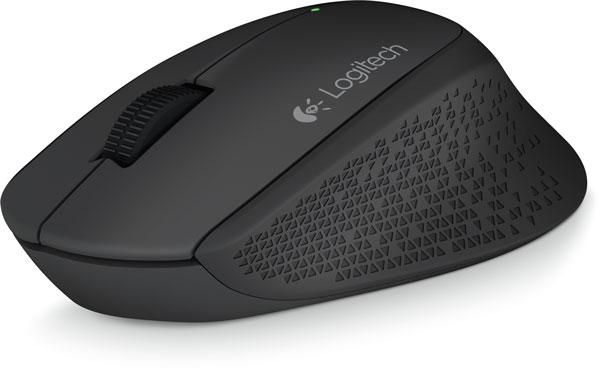 В мыши Logitech Wireless Mouse M280 используется оптический сенсор