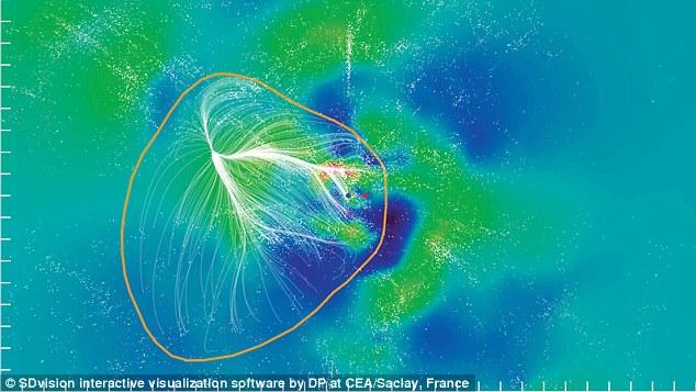 Астрофизики построили трехмерную визуализацию нашего суперкластера