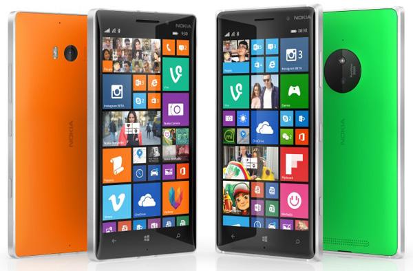Nokia Lumia 930 и Nokia Lumia 830