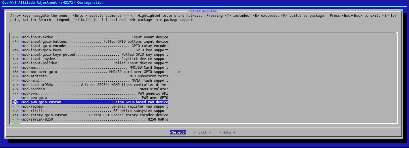 Управляем сервоприводами из OpenWRT без Arduino