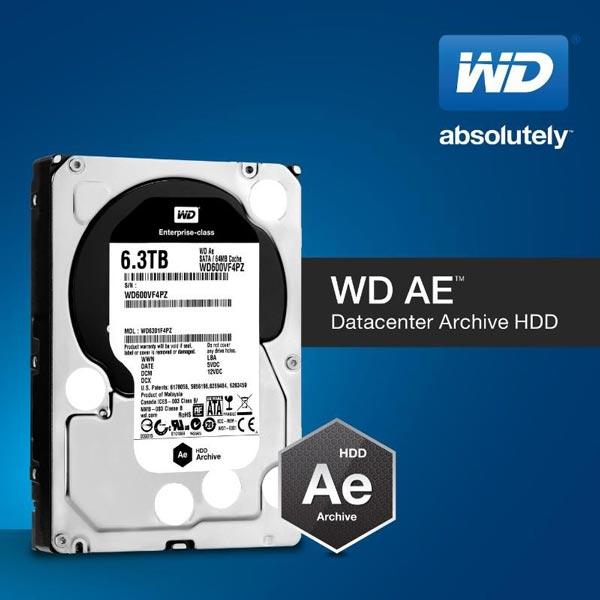 К особенностям WD Ae можно отнести низкое энергопотребление, большую ёмкость и высокую плотность записи