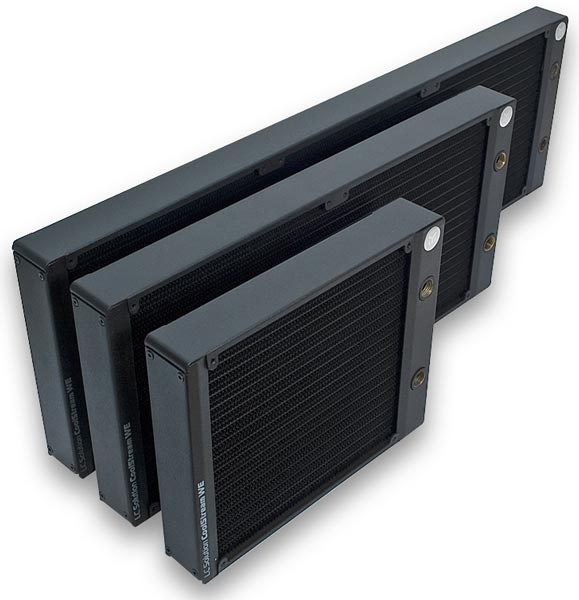 Радиатор EK-CoolStream WE 180 стоит 62 евро