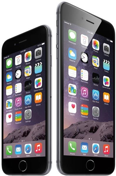 Обе модели Apple iPhone 6 будут доступны в золотистом, серебристом и сером цветах