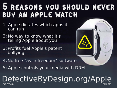 Five reasons you should never buy an Apple Watch