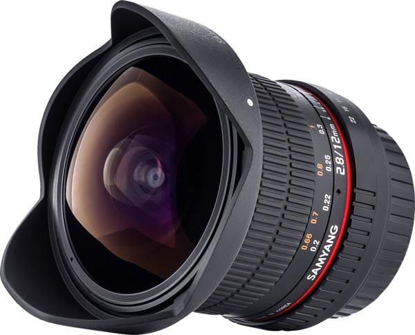 Срок начала продаж и цену объектива Samyang 12mm f/2.8 ED AS NCS Fish-eye производитель обещает назвать позже