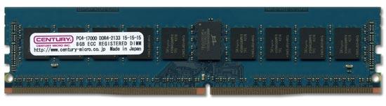 В модулях памяти Century Micro CD8G-D4RE2133L82 используются микросхемы памяти DRAM производства SK Hynix