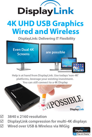 DisplayLink WiGig 4K