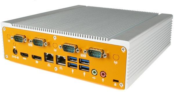 Основой компьютеров Logic Supply ML400 служат системные платы типоразмера Mini-ITX