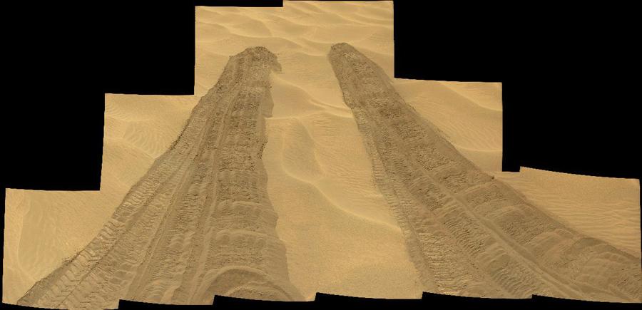 Марсоход Curiosity: интересное только начинается