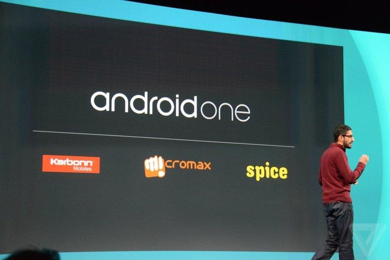 Google представил 100 долларовые смартфоны на Android One