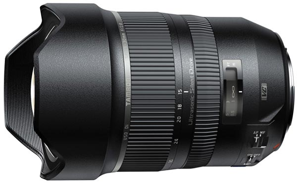 Данных о цене объектива Tamron SP 15-30mm F/2.8 Di VC USD (A012) пока нет