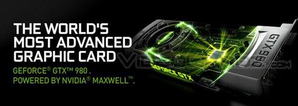 3D-карта Nvidia GeForce GTX 980 характеризуется TDP 175 Вт