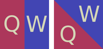 Эксперимент с треугольной QETUO клавиатурой