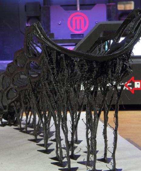 Древовидная (точечная) поддержка моделей в 3D печати