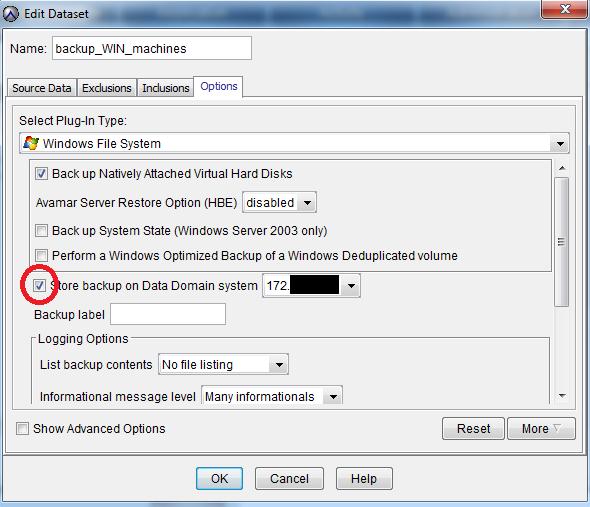 Резервное копирование пользовательских данных