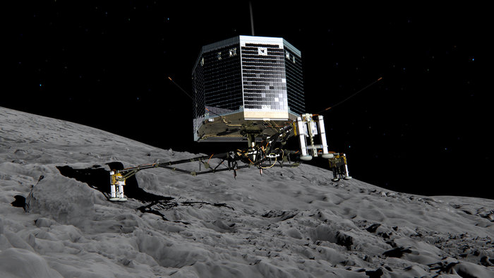 Посадочный зонд Philae Rosetta: что будет происходить при высадке зонда на комету Чурюмова Герасименко?