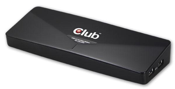 У Club 3D готова стыковочная станция с поддержкой 4K, подключаемая по USB 3.0