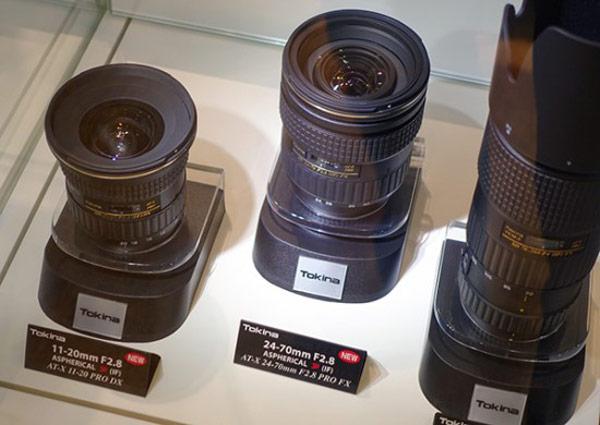 Tokina привезла на Photokina прототипы объективов AT-X 11-20mm f/2.8 PRO DX и AT-X 24-70mm f/2.8 PRO FX