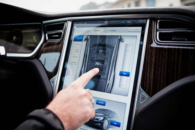Автомобилям Model S теперь можно давать личные имена
