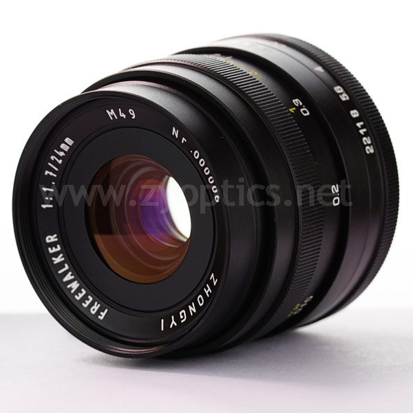 Цена Zhongyi Mitakon 42.5mm f/1.2 равна $359, Zhongyi Mitakon 24mm f/1.7 — $289