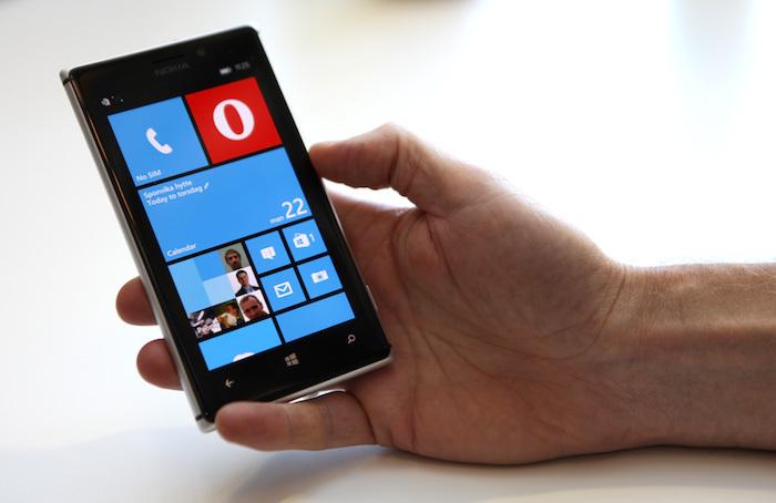 Бета Opera Mini для Windows Phone