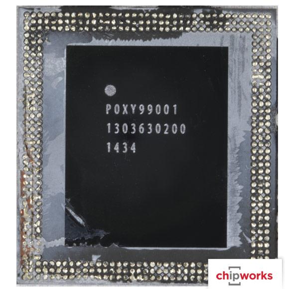 В маркировке можно выделить строку APL1011, обозначающую модель SoC