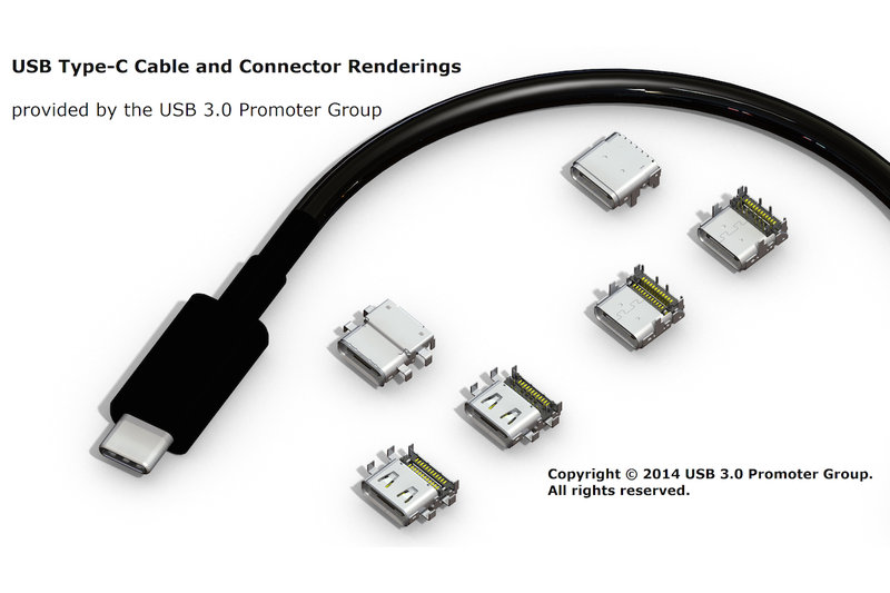 Универсальный USB кабель нового типа будет поддерживать DisplayPort