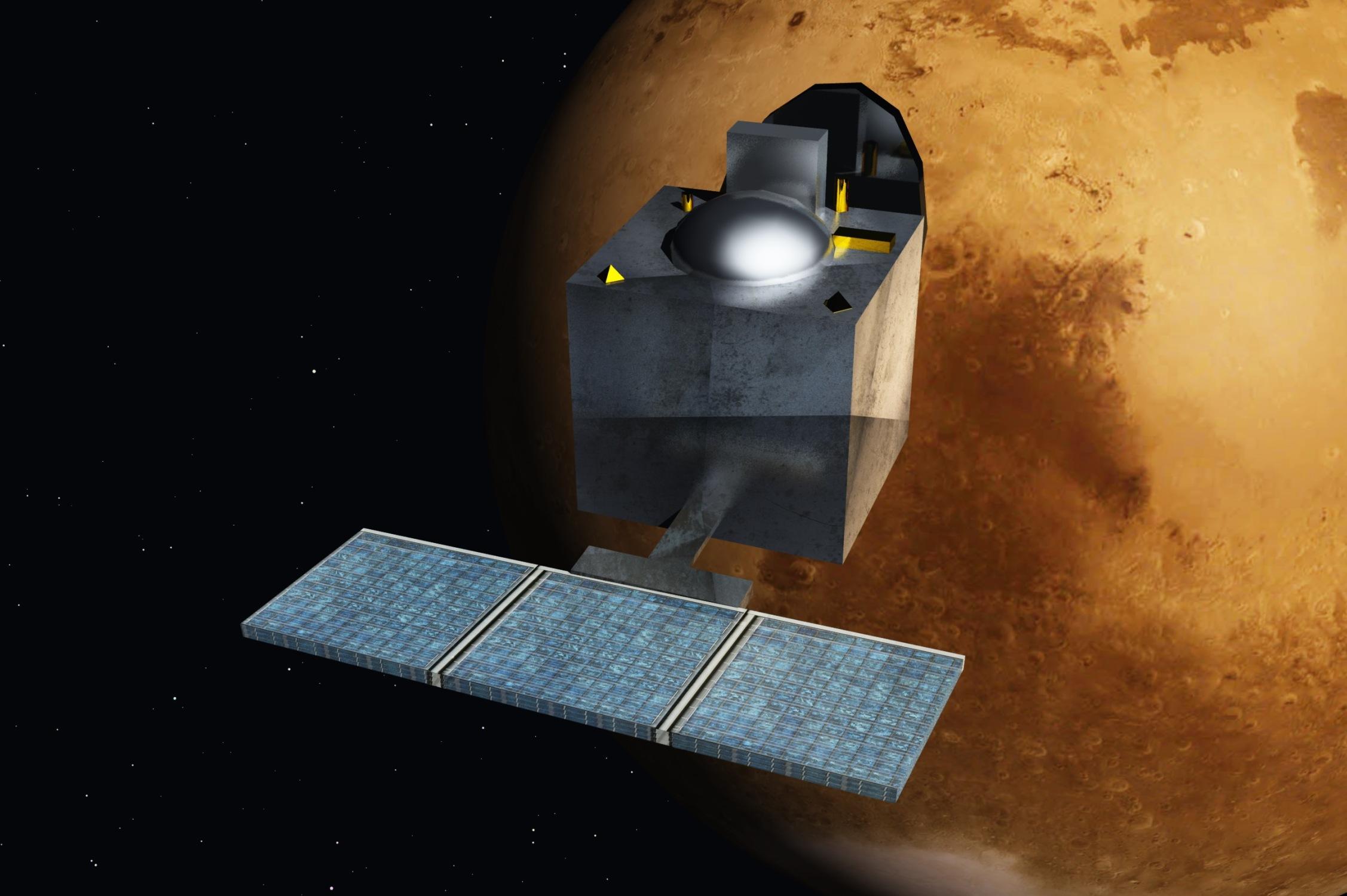 Индийский космический аппарат Mangalyaan успешно прибыл на орбиту Марса