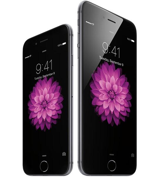 Дисплеи типа IPS, используемые в Apple iPhone 6 и iPhone 6 Plus, различаются размерами и разрешением, но в остальном очень похожи друг на друга