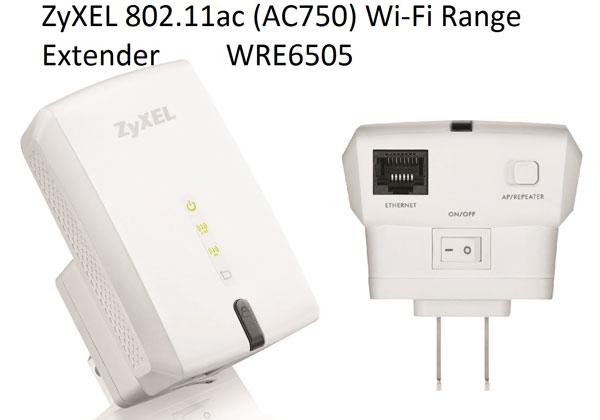 WRE6505 также может служить точкой доступа или повторителем сигнала