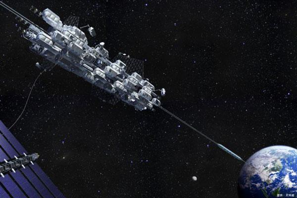 Поездка на космическом лифте на орбитальную станцию займет семь дней