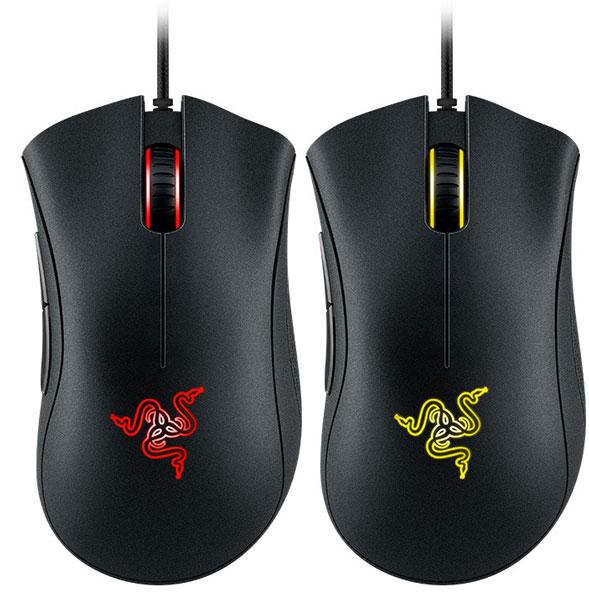 Мышь Razer DeathAdder Chroma оснащена пятью программируемыми кнопками
