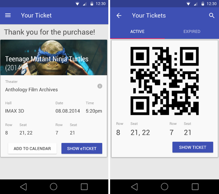 TicketEasy — два билета в первый ряд