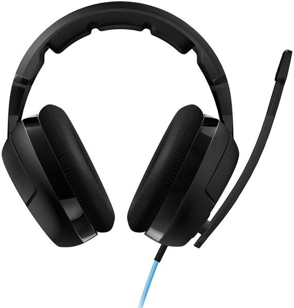 Гарнитура Roccat Kave XTD Stereo оснащена кабелем длиной 2,5 м с пультом управления