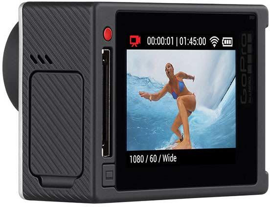 Камера GoPro Hero 4 Silver будет оснащена сенсорным экраном