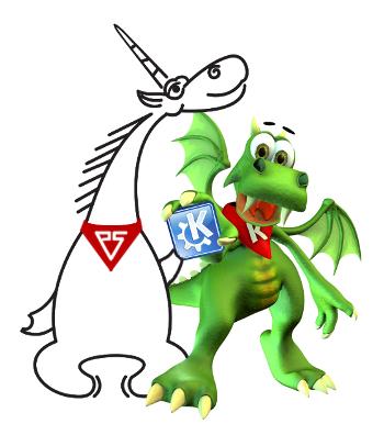 Единорог заинтересовался KDE