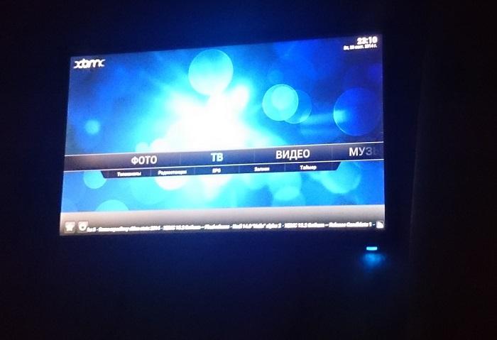 Медиацентр с IPTV из ноутбука и монитора