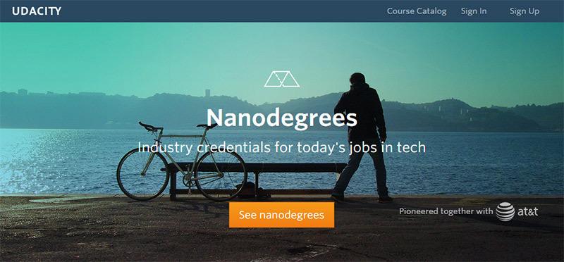 Нанодипломы (nanodegrees) после онлайн обучения признают крупные IT компании
